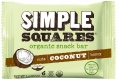 Simple Squares Coconut Bar